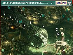 Dragon Hidden Alphabets game