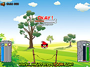 Angry Birds Get Eggs game