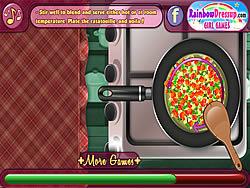 Oti's Cooking Lesson: Ratatouille game