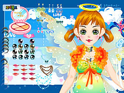 Holiday Fairy Dress up game