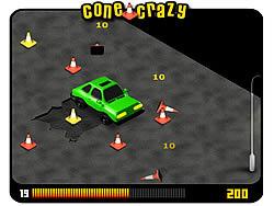 Играть бесплатно в игру Cone Crazy