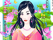 Play Magic garden make up Game