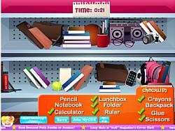 School Store Hidden Objects game
