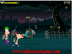 Phineas and Ferb Lightning Bug game