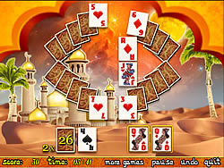 Aladdin Solitaire game