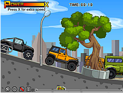 The Truck Competition game
