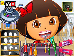 무료 게임 플레이 Dora At Dentist