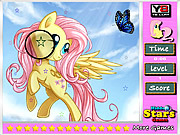 Fluttershy Hidden Stars game