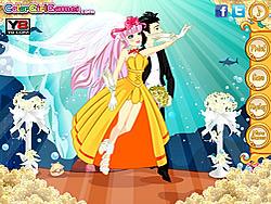 Sea Princess Wedding Dresses game