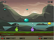 Juega al juego gratis Bubble Slasher