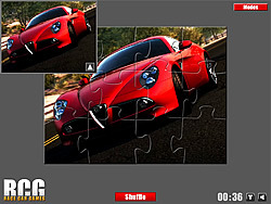 Alfa Romeo Jigsaw game
