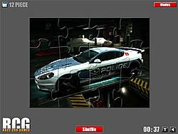 Aston Martin Jigsaw game