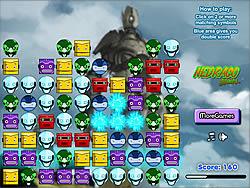 Robot Clix game