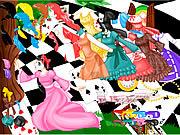 Alice in Wonderland game