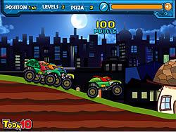 Ninja Monster Trucks game