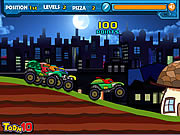 Ninja Monster Trucks game