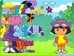 Dora the Explorer Dress Up game