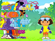 jeu Dora the Explorer Dress Up