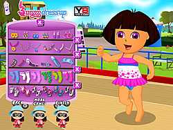 Pretty Dora Skating game