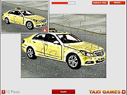 Chơi Mercedes Taxi Puzzle miễn phí