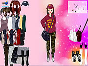Play Korean Girl Dress Up game online - Y8.COM