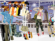 Play Army dress up Game