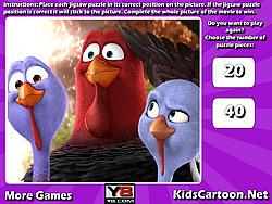 Gioca gratuitamente a Free Birds Jigsaw