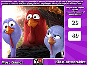 Free Birds Jigsaw game