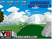 Motorbike Obstacle 2 game