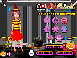 Sofia The First Halloween game