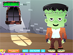 Frankenstein Dress Up game