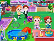 Baby Hazel Backyard Party game