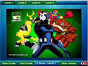 Ben 10 all powers Jigsaw game