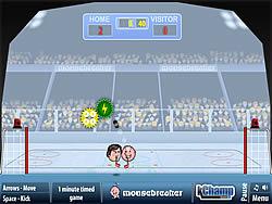 Sports Heads: Ice Hockey game