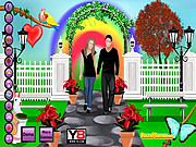 Play Romantic lover s park Game