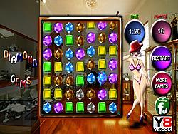 Diamond Gems Match game