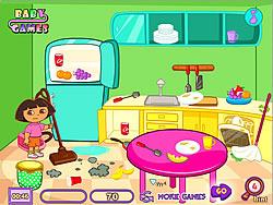 Dora Room Clean παιχνίδι