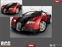 Bugatti Jigsaw game