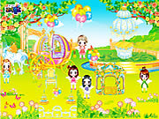 Angel Garden Decor game