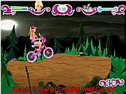 Barbie Halloween bike ride game