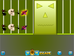 Wow Halloween Puzzles game