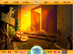 Hidden Letters-Halloween 2013 game