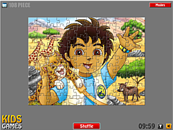 Diego Puzzle game