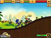 Juega al juego gratis Sonic vs Simpson