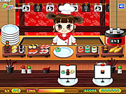 Play Sushi serving Game