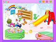 Play Babies playroom make over Game