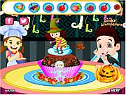 Gioca gratuitamente a Happy Halloween  Cupcake