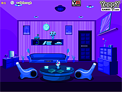 Blue Room Escape game