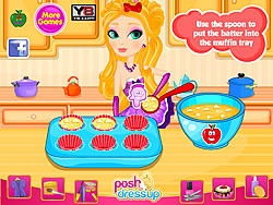Apple White's Special Apple Muffins game