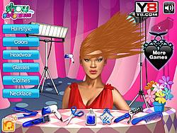 Rihanna Fantasy Haircuts game
